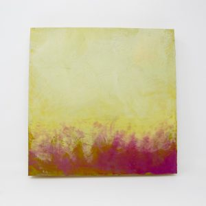 Ericka Wolf Original Encaustic on Birch #1