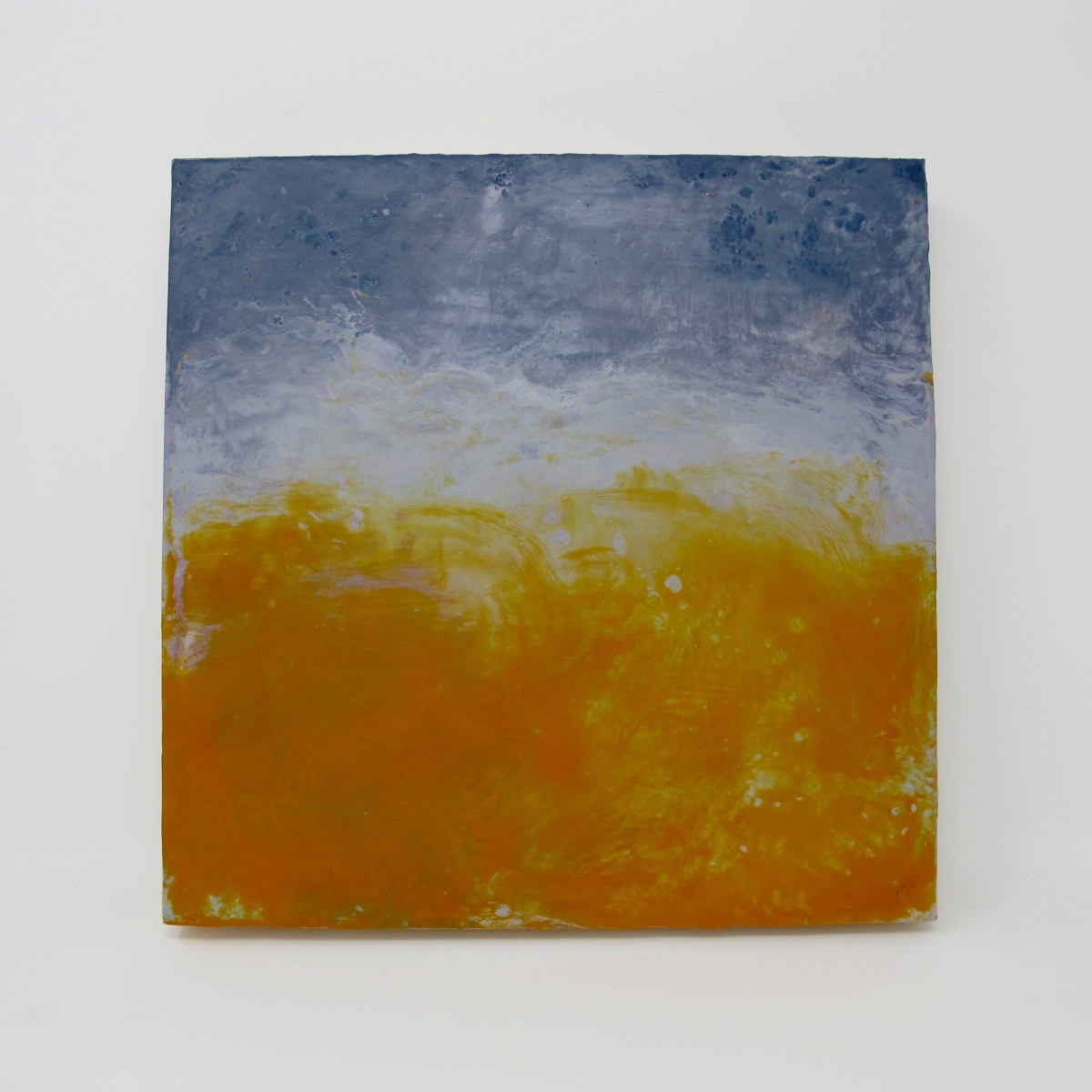 Ericka Wolf Original Encaustic on Birch #3