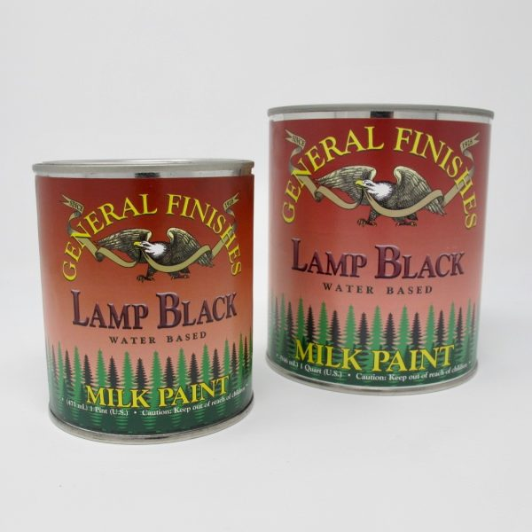 General Finishes Milk Paint Black - The Phinery
