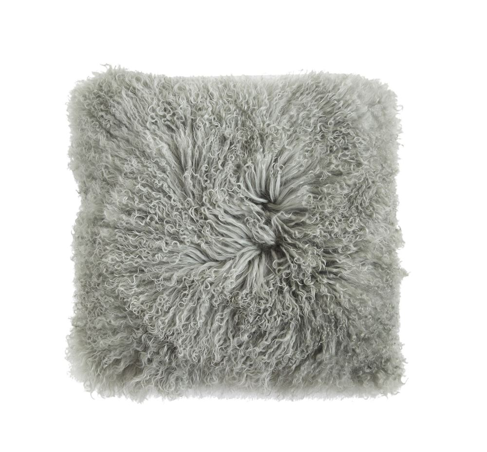 Mongolian Fur Lamp Pillow - The Phinery