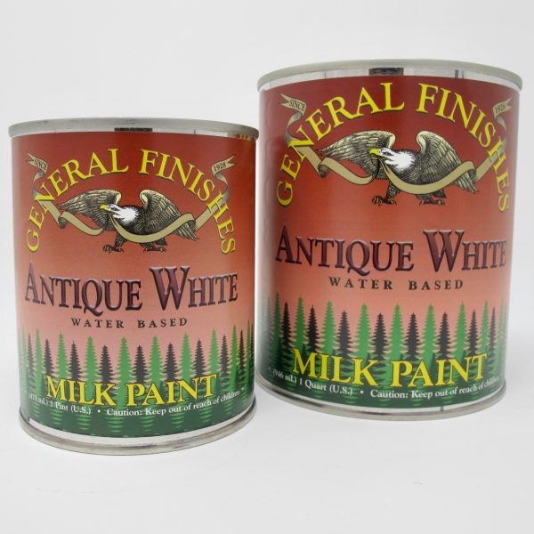 General Finishes Milk Paint White - The Phinery