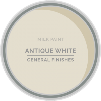 antique white milk paint for refinishing furniture and diy projects