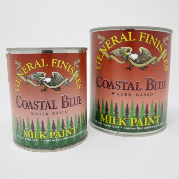 General Finishes Milk Paint Blue - The Phinery