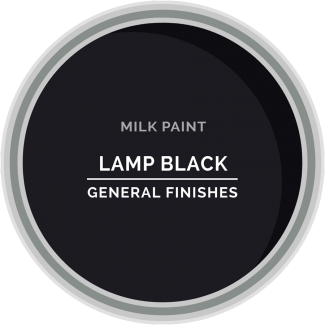 lamp black milk paint for furniture refinishing and diy projects