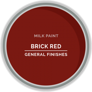 brick red milk paint for furniture refinishing and diy projects