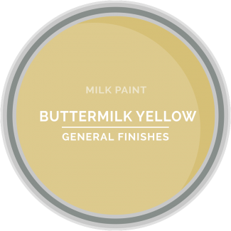 buttermilk yellow milk paint for furniture refinishing and diy projects
