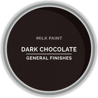 dark chocolate brown milk paint for furniture refinishing and diy projects