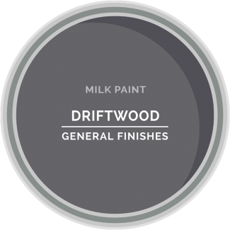 driftwood gray milk paint for furniture refinishing and diy projects