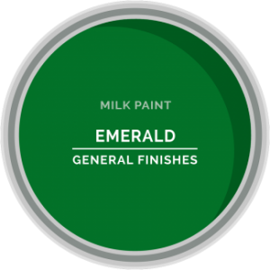 emerald green milk paint for furniture refinishing and diy projects