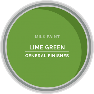 lime green milk paint for furniture refinishing and diy projects