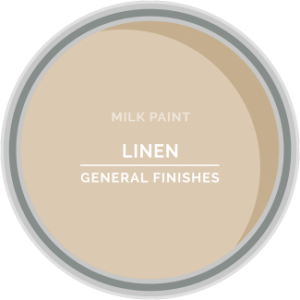 linen cream milk paint for furniture refinishing and diy projects