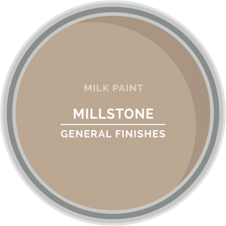 millstone beige milk paint for diy projects