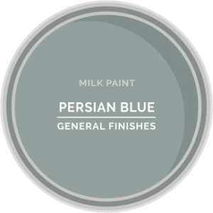 persian blue milk paint for furniture refinishing and diy projects