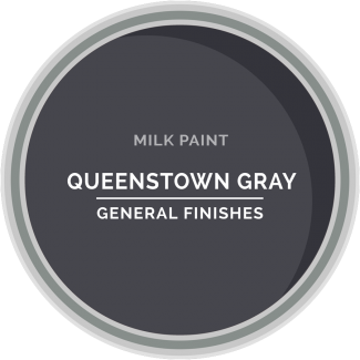queenstown gray milk paint for furniture refinishing and diy projects