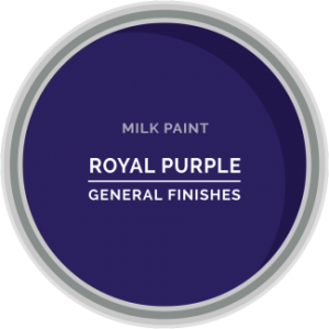 royal purple milk paint for furniture refinishing and diy projects