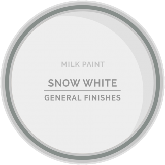snow white milk paint for furniture refinishing and diy projects