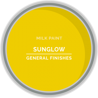 sunglow yellow milk paint for furniture refinishing and diy projects