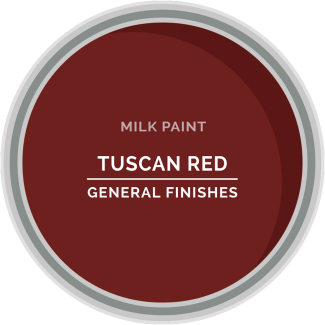 tuscan red milk paint for furniture refinishing and diy projects