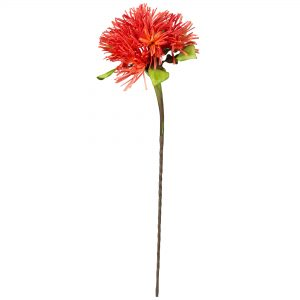 Coral Spike Faux Flower