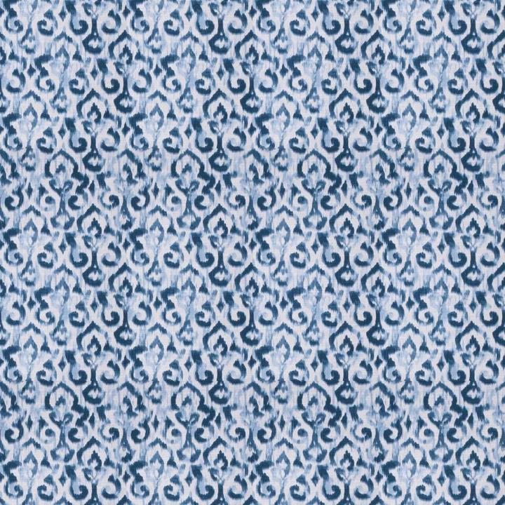 Maister Damask Denim Fabric per yard