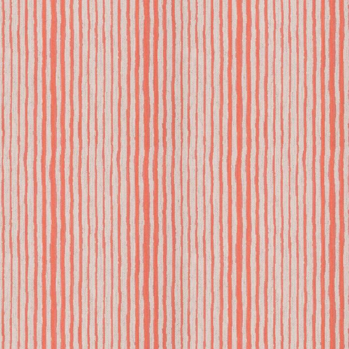 Dana Gibson Couture Stripe Coral Fabric per yard