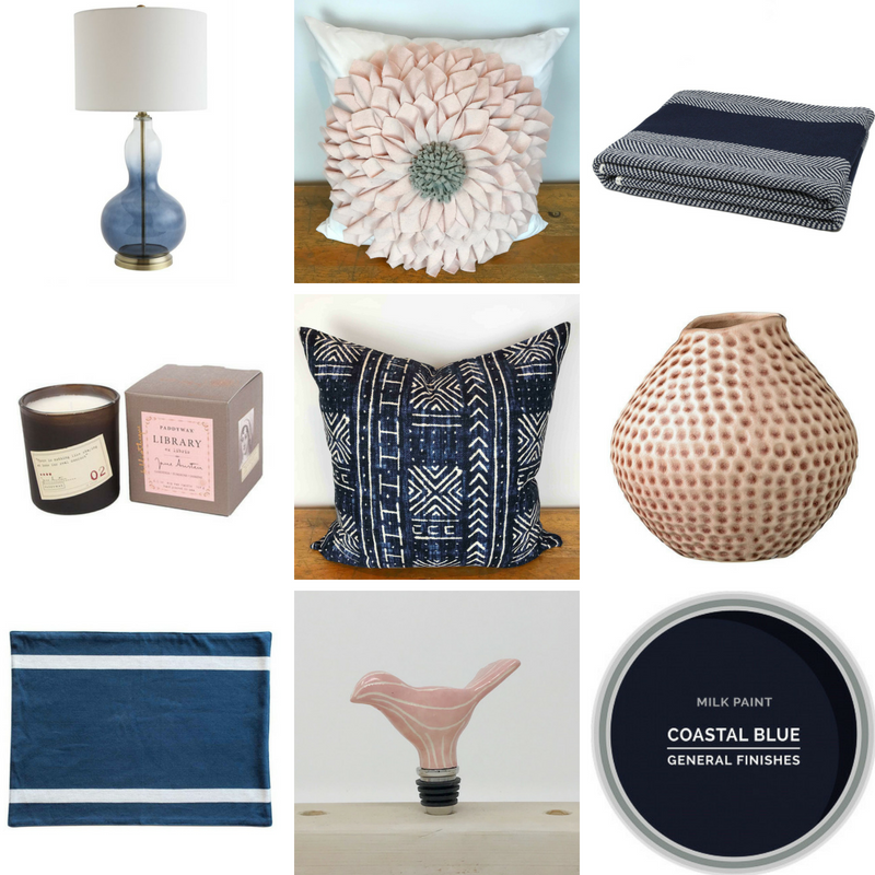 Favorite Things Blush and Navy