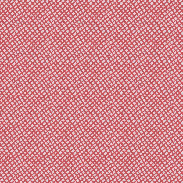 Anagram Coral Fabric per yard