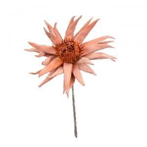 Prickly Peach Desert Faux Flower