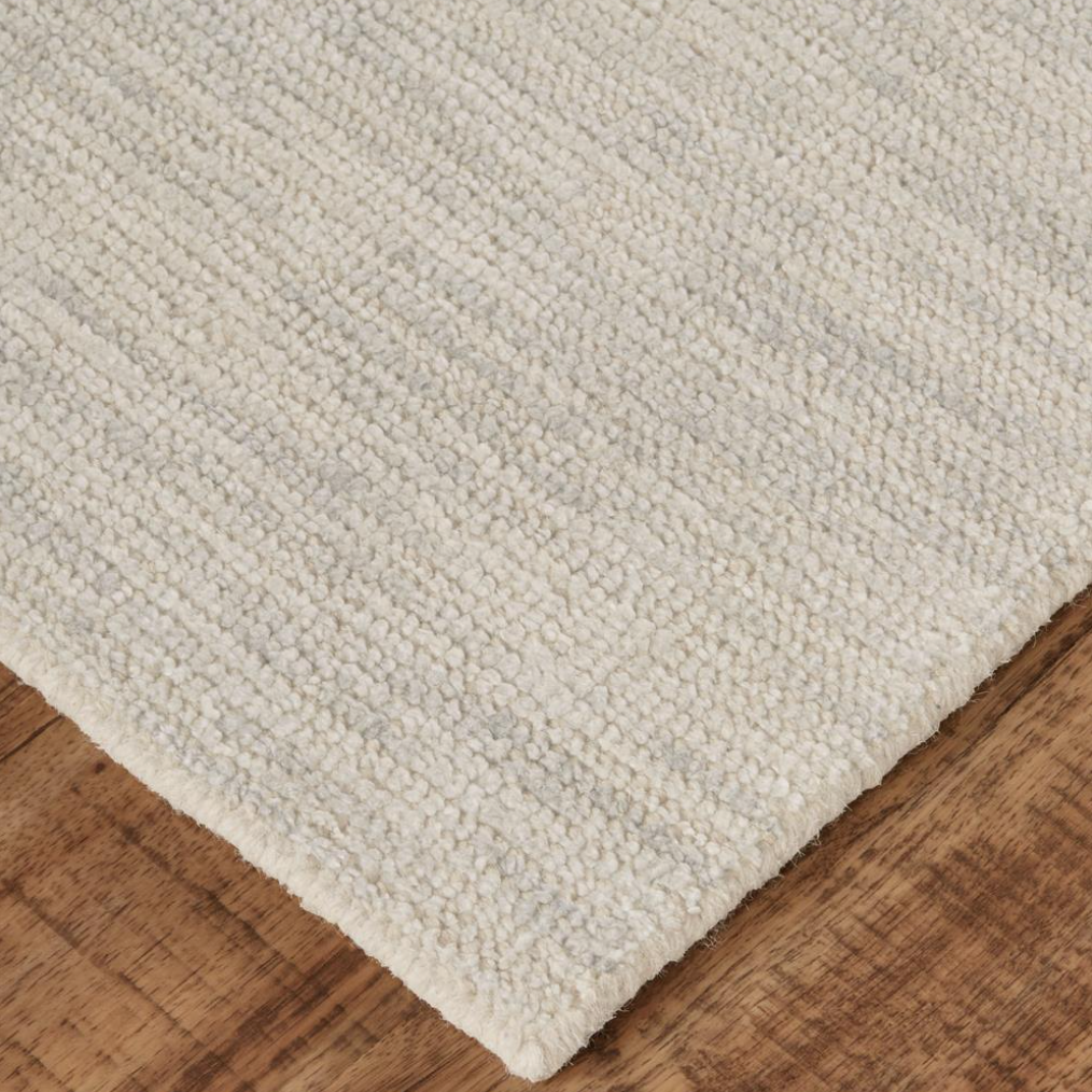 Burke Neutral Wool Rug The Phinery