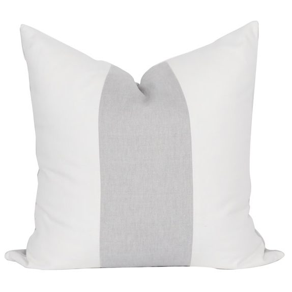 Fog Color Block Pillow Cover 01