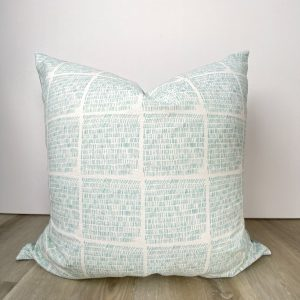 Sky Blue Coastal Beachy Pillow Cover