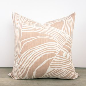Blush Pink Designer Pillow