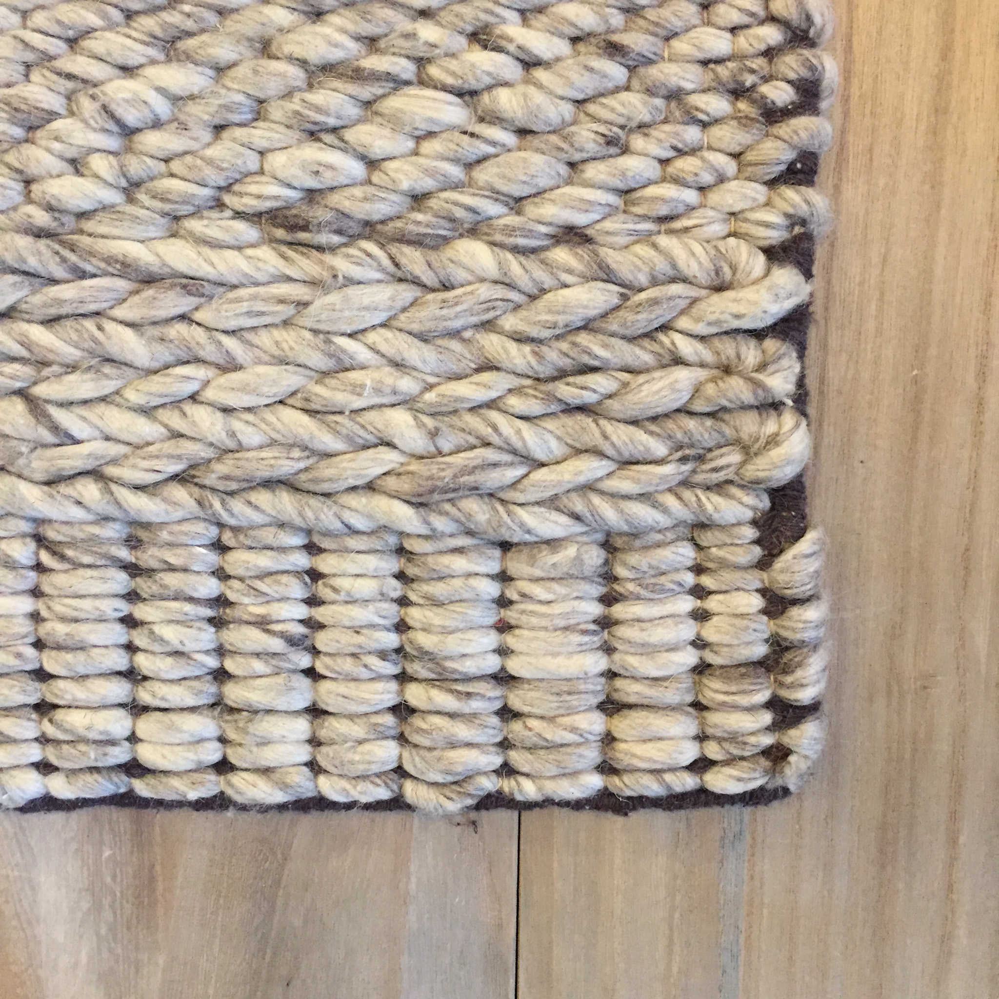 Berkeley Natural Braided Wool Area Rug