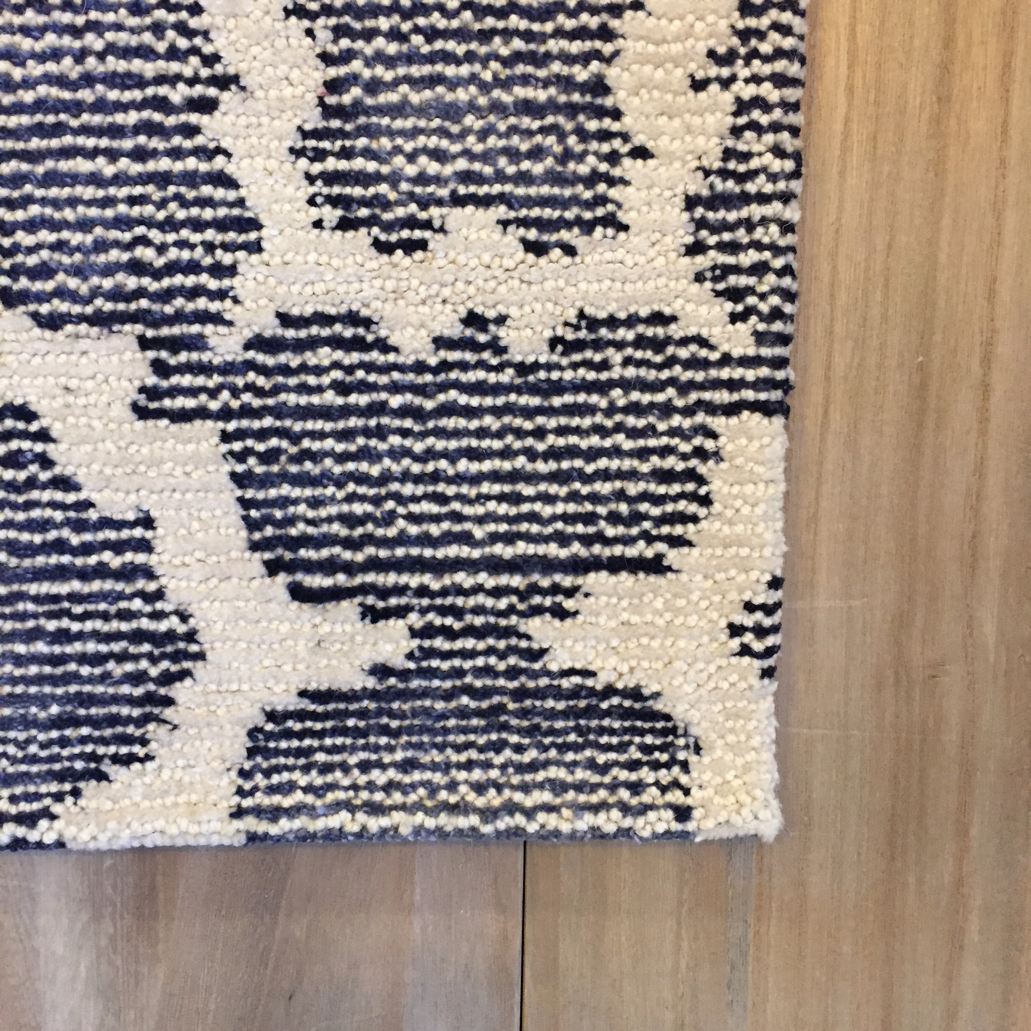 China Blue Navy Area Rug