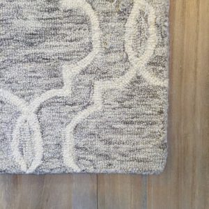 Belfort Wool Gray Area Rug