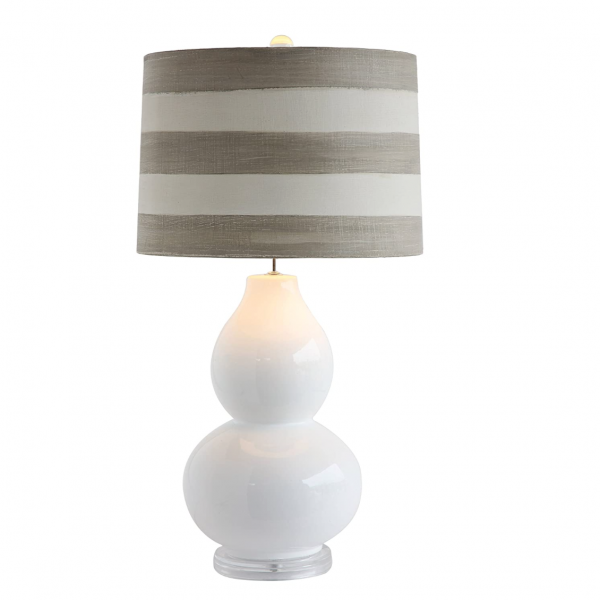 Striped Table Lamp