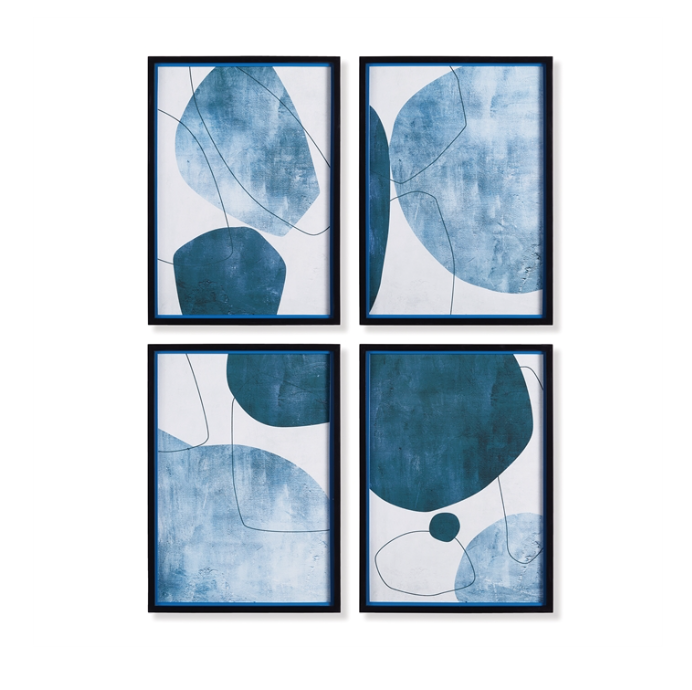 Coastal Blue Art Prints