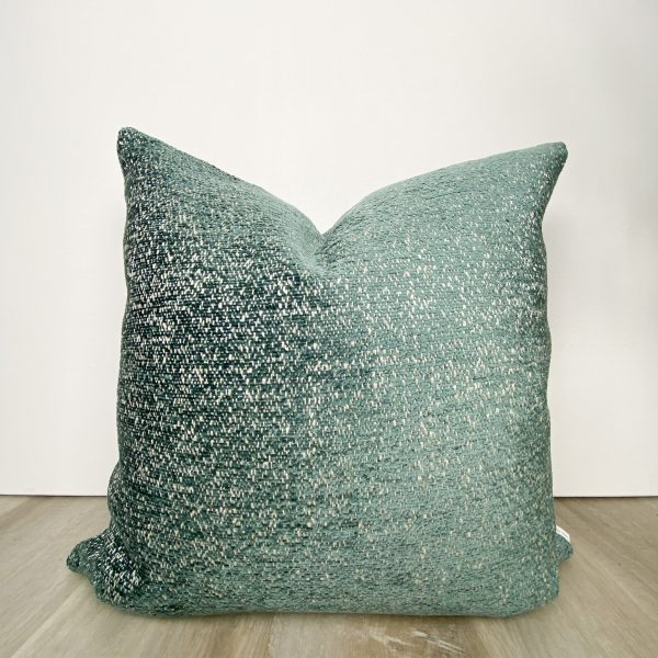 Luxe Teal Blue Designer Pillow