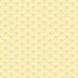 Koi Yellow Small Print Wallpaper