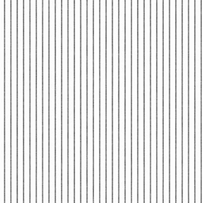 Black and White Ticking Stripe Wallpaper