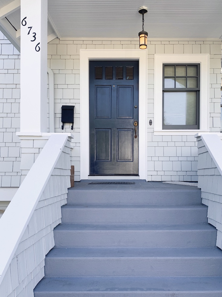 Benjamin Moore Hale Navy Front Door The Phinery