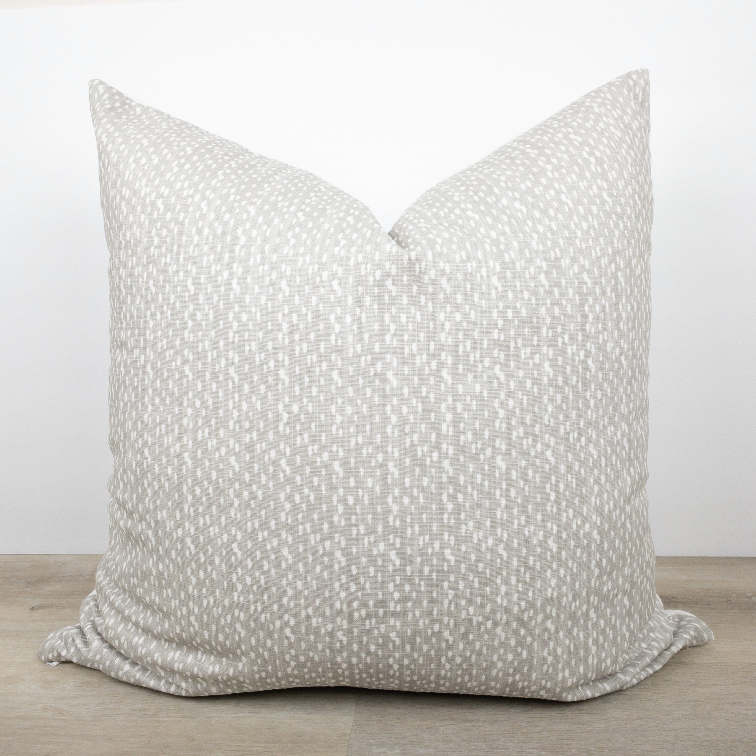 Gray + White Fleck Pillow The Phinery