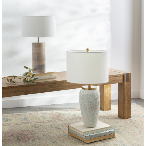 Prior Off-white Ceramic lamp