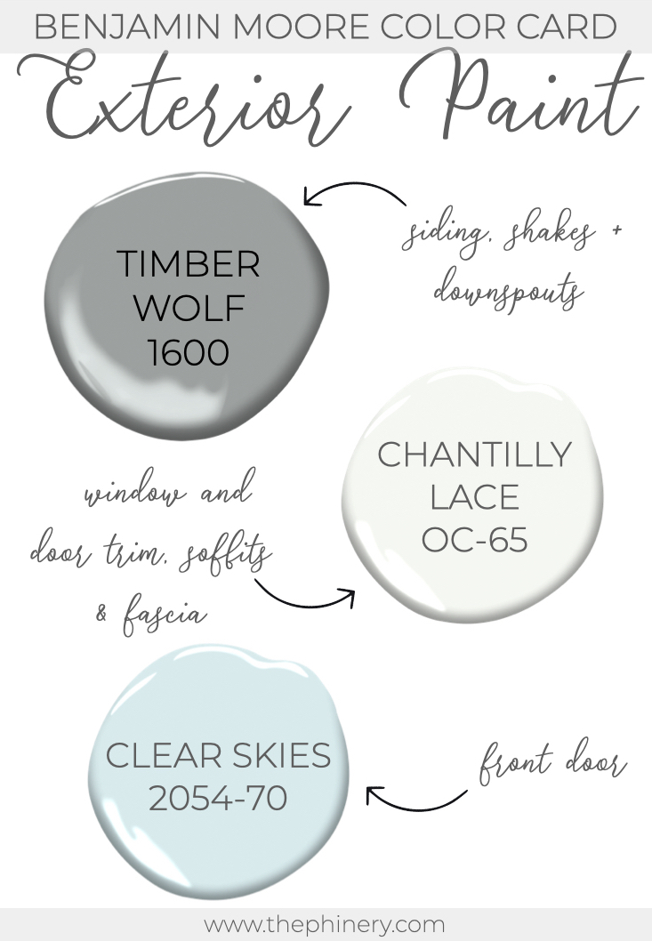 Timber Wolf Chantilly Lace Benjamin Moore Exterior Paint Color.001