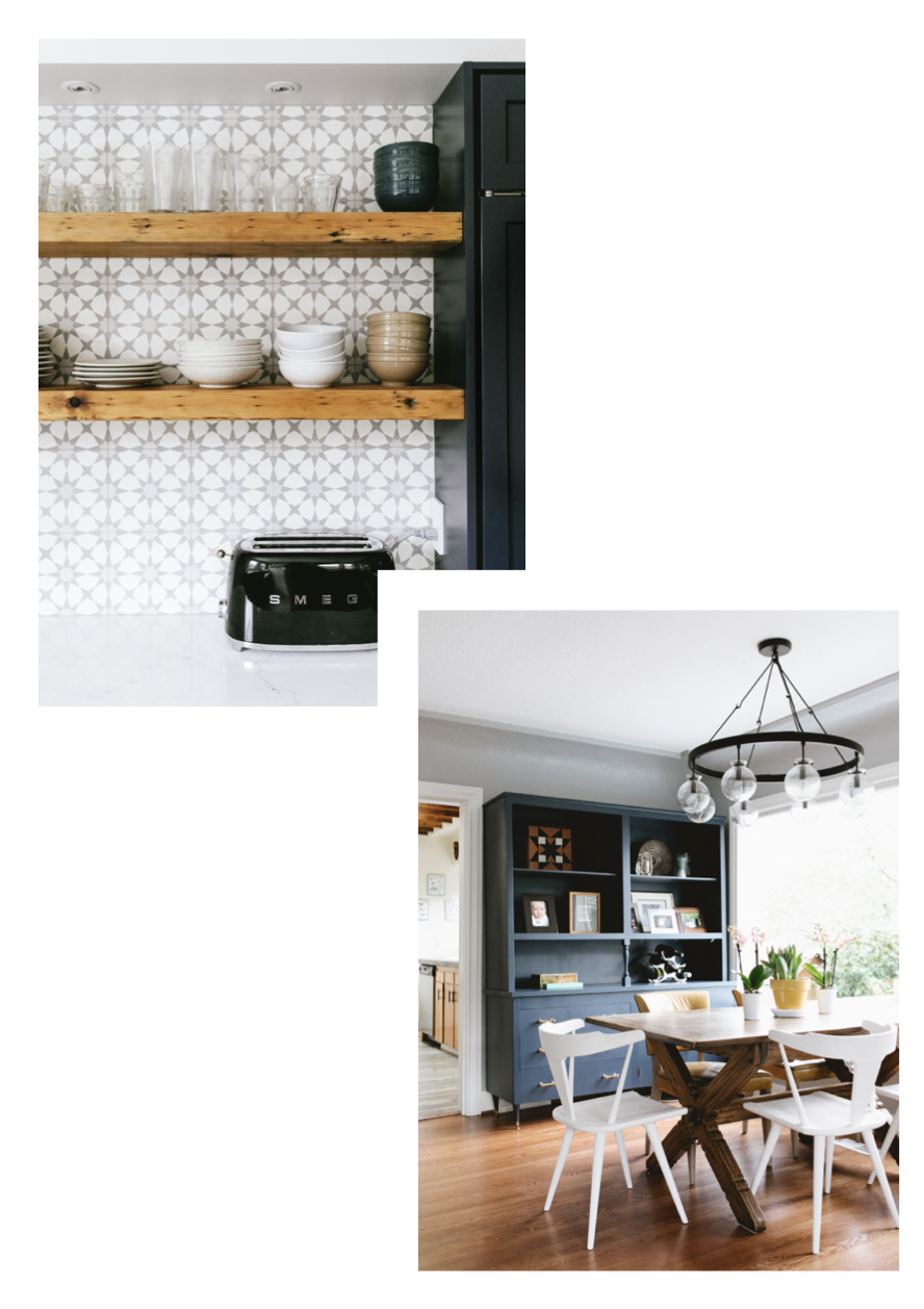Phinery Kitchen + Dining Room Examples