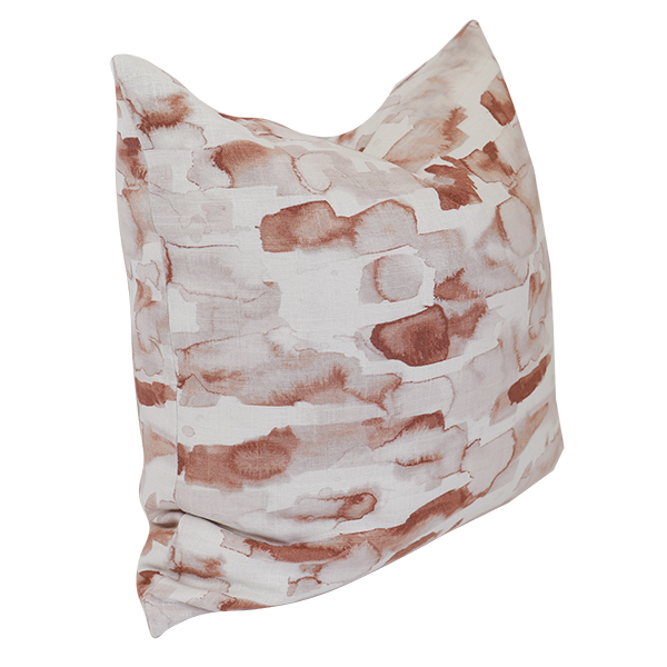 Coral Clay Pillow Color