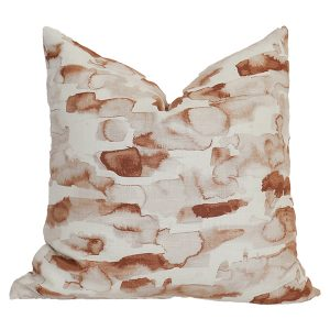 Coral Clay Pillow Cover 01