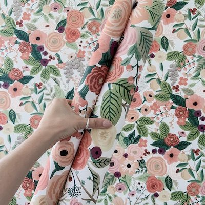 Rifle Paper Garden Party How to Apply Peel and Stick